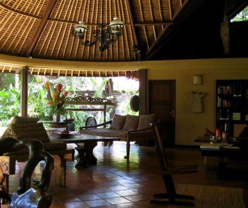 Inside Bali House